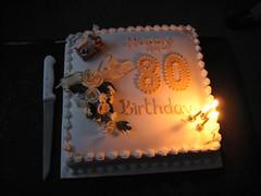 Aunty Peg's 80th birthday party
