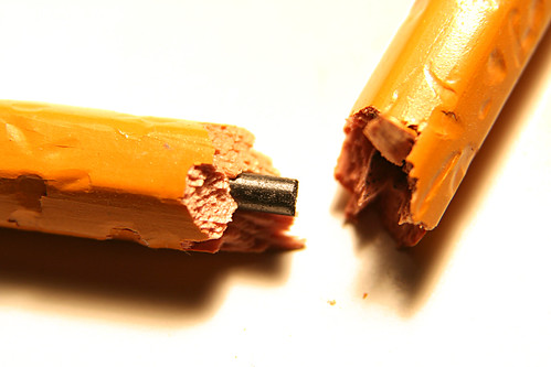 Sometimes writing is like eating a pencil
