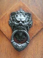 carving, art, sculpture, metal, door knocker, iron,