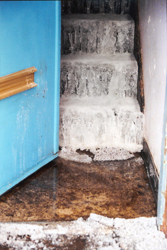 103- ice on stairs in tasker projects | Zoe Strauss | Flickr