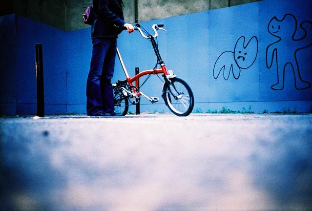 brompton & graffiti