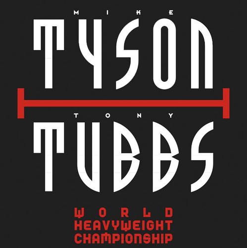 Tyson-Tubbs-Poster von Neville Brody
