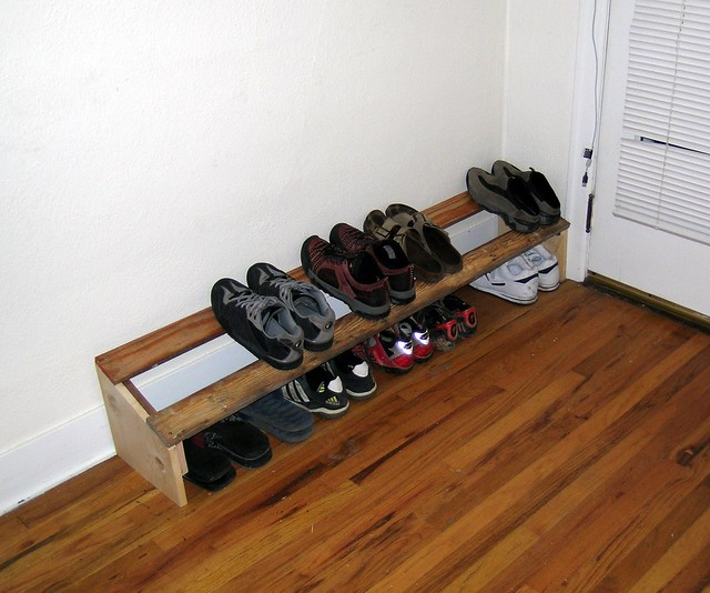 Front Door Shoe Rack Flickr Photo Sharing