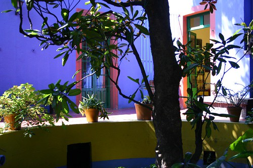 Frida Kahlo's House in Mexico City