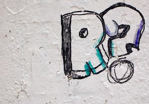 R Graffiti by David Goehring