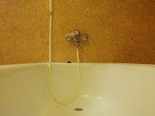 Water Conservation tips for home - bath tub