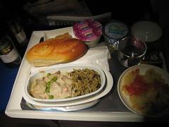 Air France Airplane Food