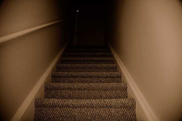 scary stairs flickr photo sharing