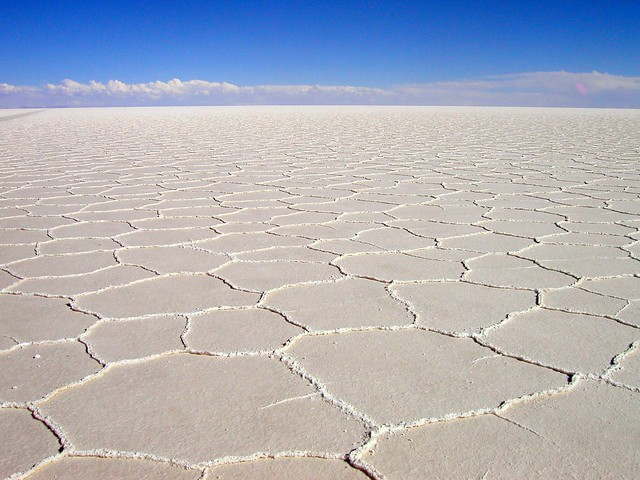 The white desert - Uyuni - Bolivia