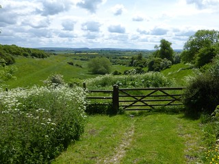 Upper Winchendon, looking back