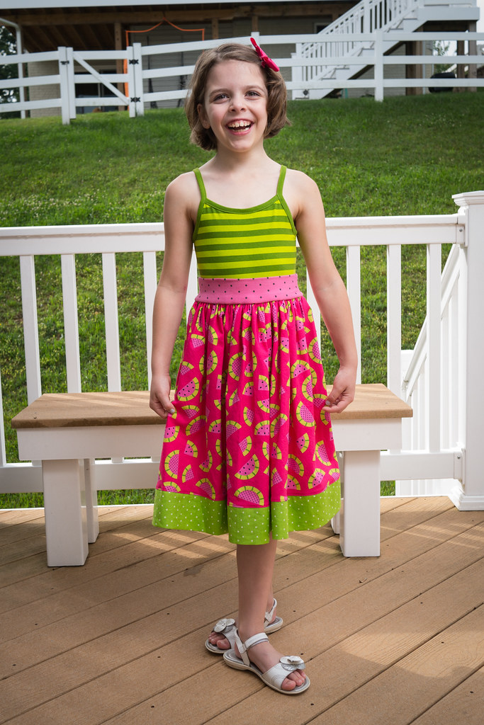 A second watermelon dress