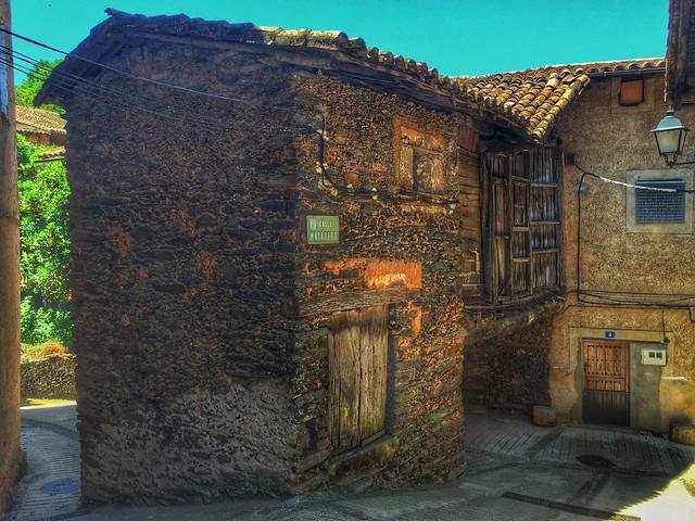 Casa de Robledillo de Gata (Sierra de Gata, Extremadura)