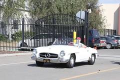 supercar(0.0), automobile(1.0), vehicle(1.0), performance car(1.0), automotive design(1.0), mercedes-benz(1.0), mercedes-benz 190sl(1.0), mercedes-benz 300sl(1.0), antique car(1.0), vintage car(1.0), land vehicle(1.0), luxury vehicle(1.0), sports car(1.0),