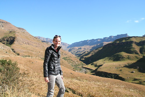 Taking in the Sani Pass Views