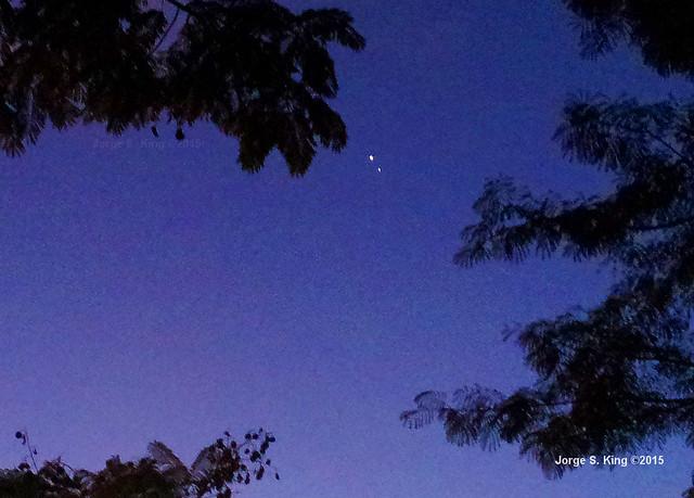 Venus y Júpiter 2015