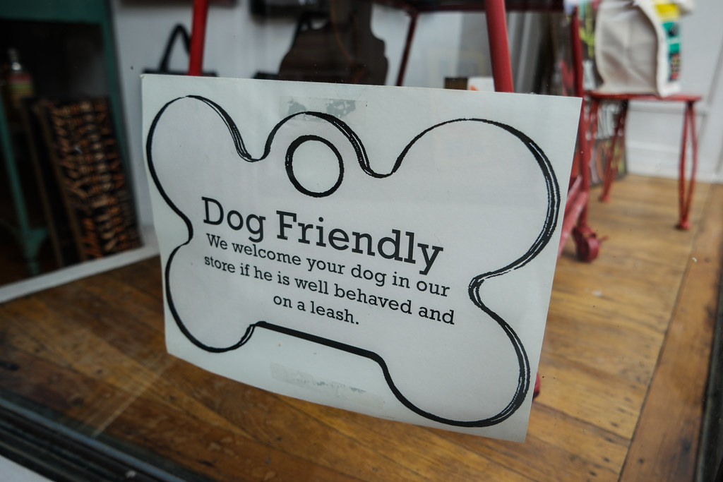 Frederick, Maryland is DOG FRIENDLY!!!