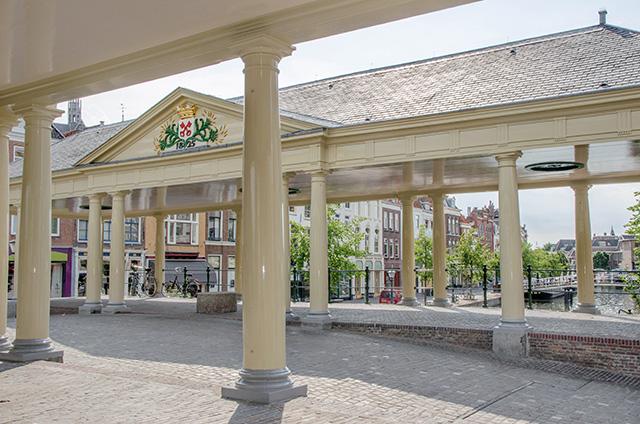 Center of Leiden, The Netherlands
