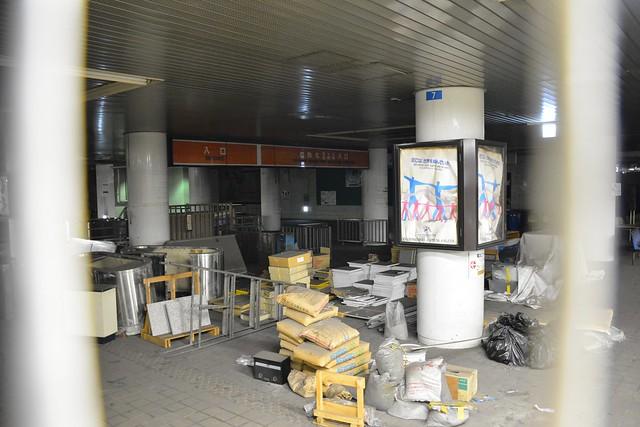 東成田駅内:成田空港駅時代の改札
