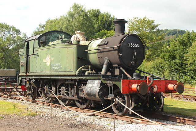 GWR 2-6-2 5553