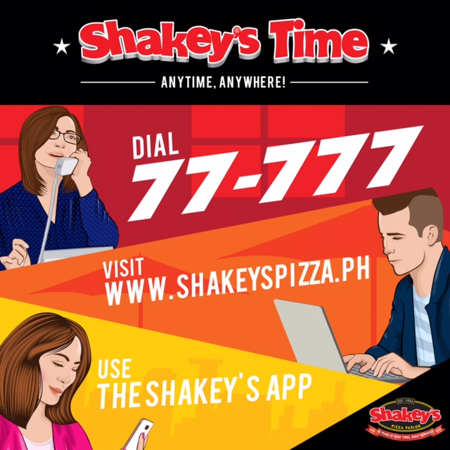 SHAKEY'S Time