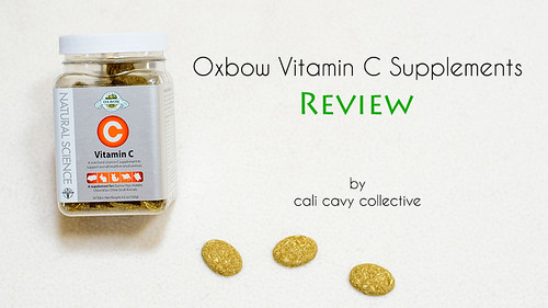 Oxbow Vitamin C Supplements and Harvest Hay Stacks Review