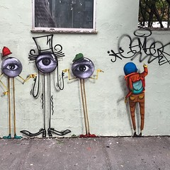 Voilá! I'm a #streetart piece! Thanks @jr , @baronandre & @osgemeos !!  #regram, photo by @baronandre