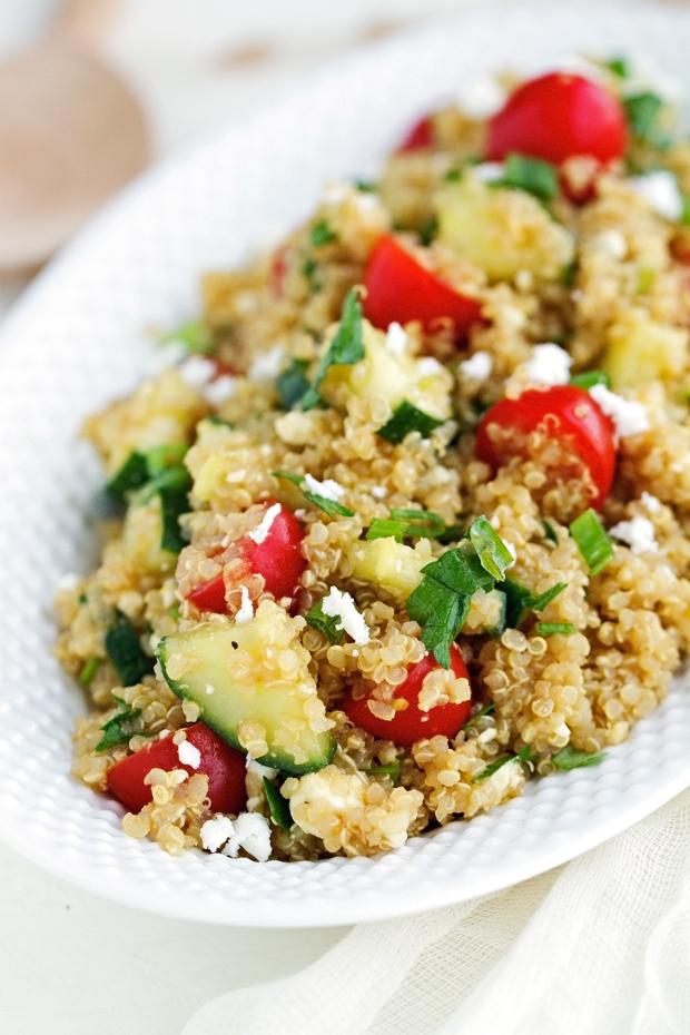 Quinoa Cucumber Salad Recipe