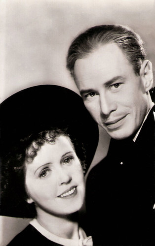 Lily Bouwmeester and Paul Storm in Vadertje Langbeen (1938)