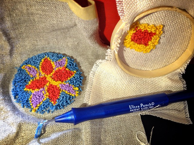 Punch Needle Embroidery