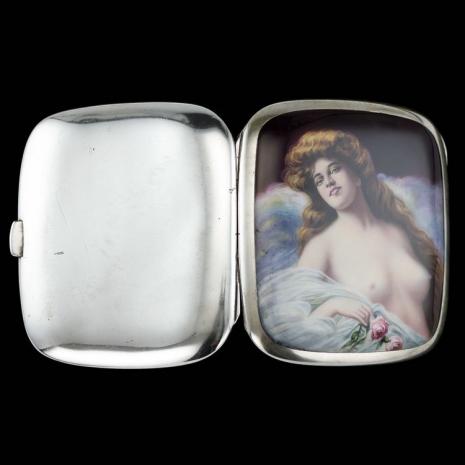 最頹廢的藝術品 20世紀初期煙盒,上流人士手中的情色秘密13
