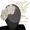 Tres Beau Teaa White Headpiece