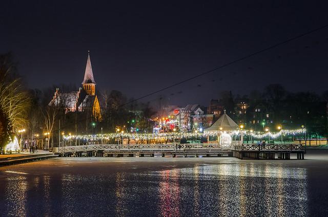 Ostróda by night