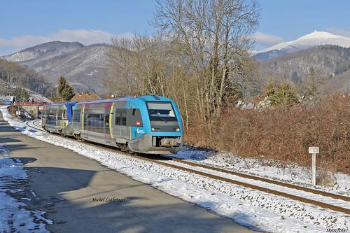 UM X73502 -Pays de la Loire-X73901-Alsace-TER 832777 Kruth-Mulhouse à Bitschwiller