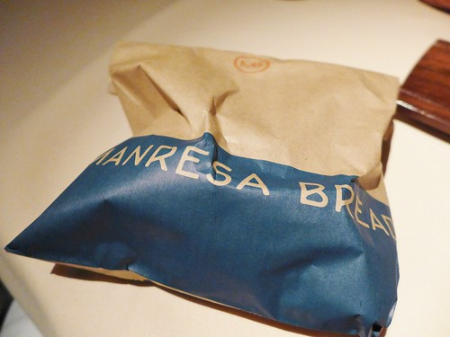 Manresa sour dough bread