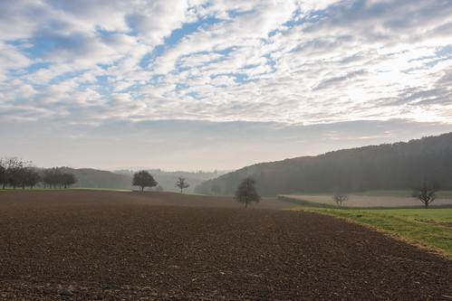 autumn nature clouds sunrise germany deutschland herbst natur wolken sonnenaufgang badenwürttemberg naturfotografie südbaden naturalphotography adelhausen