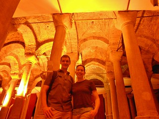 "Dennis and Clare in ""Cistern of Philoxenos"""