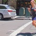 New Yorkers are so cool they can read text messages while they jog ... and she doesn't even have an iWatch (yet)! by Ed Yourdon
