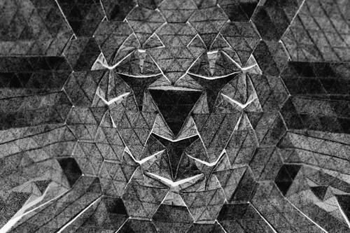 Origami 'Face' (Marjan Smeijsters)