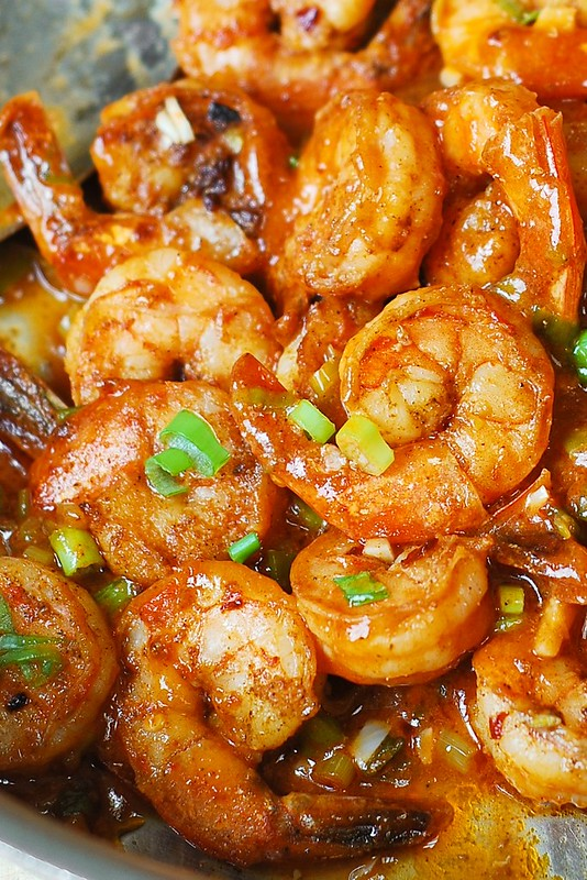 Easy spicy cajun shrimp with sauce julias album cajun seafood recipe cajun shellfish recipe cajun recipes cajun shrimp appetizer forumfinder Gallery