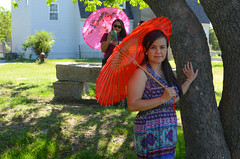 A Colorful Parasol Day