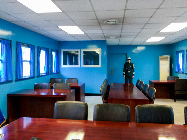 Inside UNCMA room.