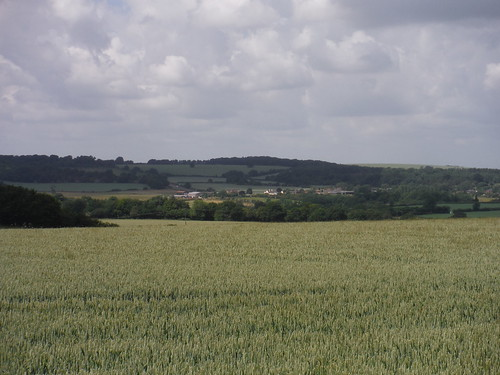 Views from Great Offley to Lilley and Warden and Galley Hills