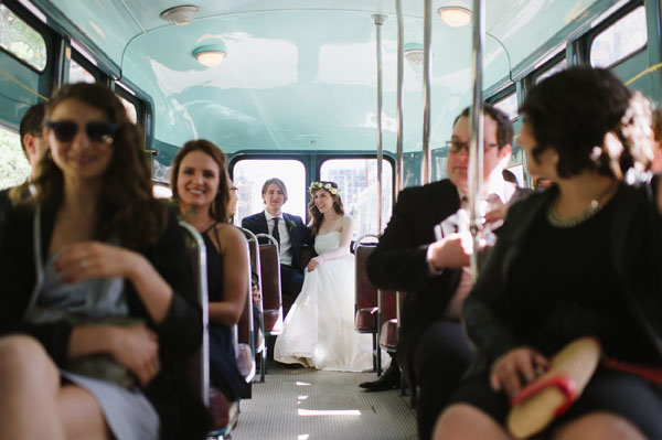 Celine Kim Photography Bellwoods Brewery intimate city wedding Toronto vintage ttc streetcar-42