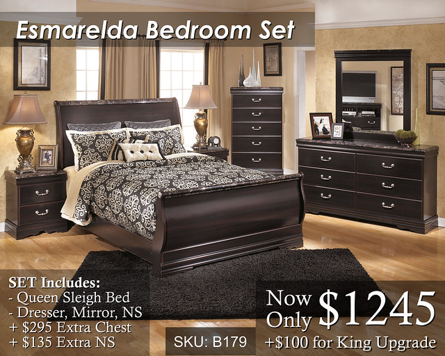 Esmarelda Bedroom Set