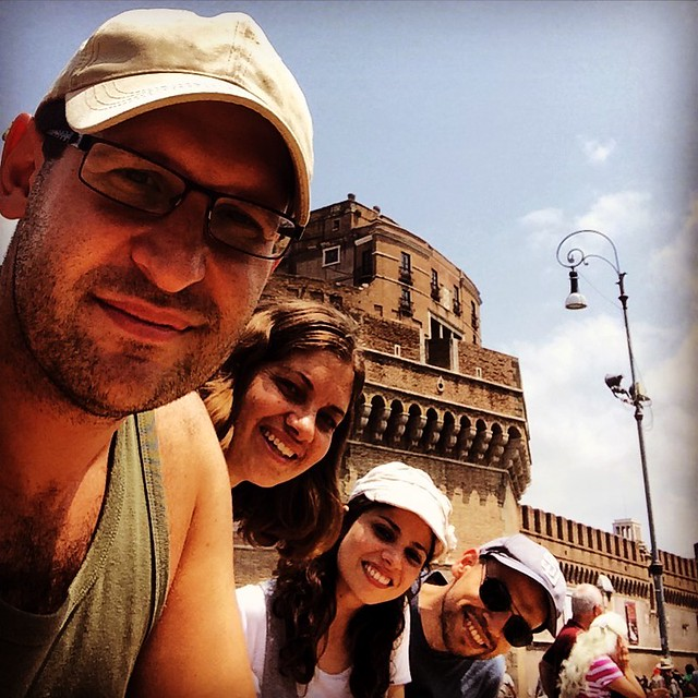 By Castel sant'Angelo