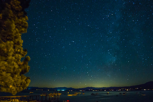 Milky Way Kings Beach Lake Tahoe, CA.