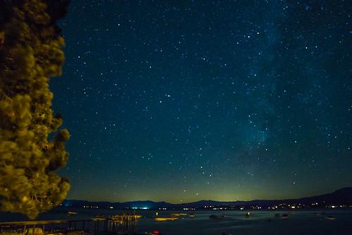 Milky Way Kings Beach Lake Tahoe, CA.