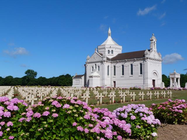Necrópolis de Notre Dame de Lorette (Norte de Francia)