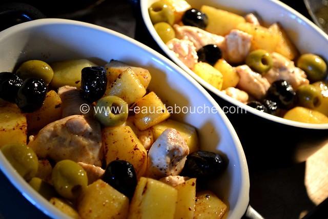 Blanc de Poulet à la Dijonnaise & Deux Olives © Ana Luthi Tous droits réservés  007