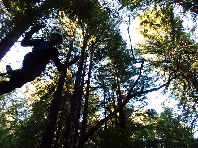 Josh going airborne
